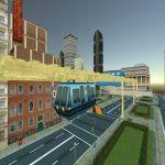 Sky Train Simulator : Elevated Train Driving Game