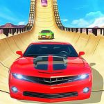 Car Stunts New Mega Ramp Car Racing Game