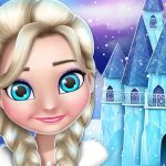 Ice Princess Doll House Design and Decoration Game